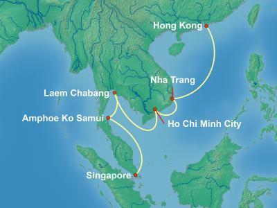 שייט למזרח הרחוק מהונג קונג