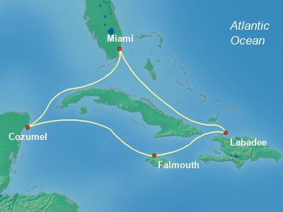 שייט לקריביים | אואזיס
