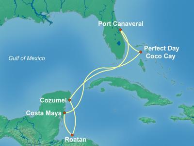 שייט מאורלנדו לקריביים