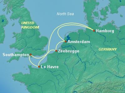 שייט לצפון אירופה