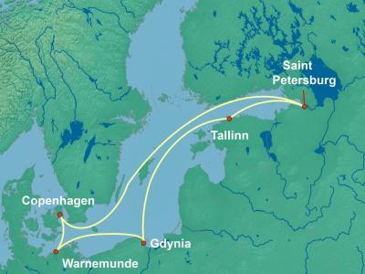 מסלול שייט לים הבלטי