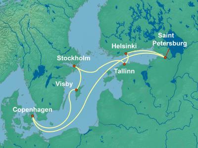 שייט לים הבלטי | Norwegian getaway
