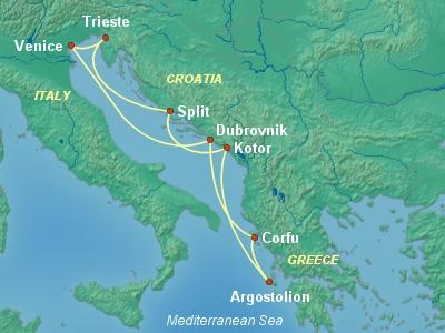 הפלגה מונציה לים האדריאטי
