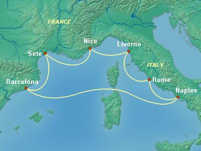 שייט בים התיכון | Sovereign