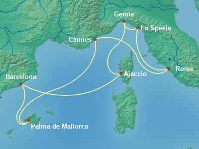 שייט בים התיכון | Msc Seaview